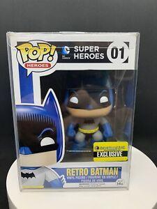 Funko Pop! DC Super Heroes- Retro Batman #01 Entertainment Earth Exclusive
