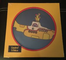 "THE BEATLES YELLOW SUBMARINE 7"" VINYL PICTURE DISC SINGLE. LIMITED EDITION"
