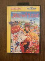 Marvel Land (Sega Genesis, 1991) Game for Sega Genesis! Tested!