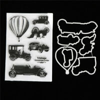 Classic Cars Metal Stamp Cutting Dies For DIY Scrapbooking Photo Album Cards Kd