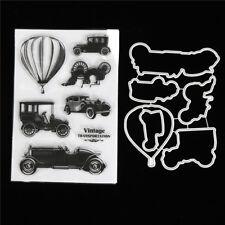 Classic Cars Metallstempel Stanzwerkzeuge für DIY Scrapbooking Foto-Album EW