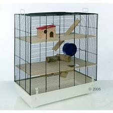 LARGE Pet CAGE Hamster MULTIPLE LEVELS Tall Space Mice Tunnel Bar Exercise Wheel