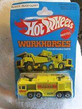 Vintage Hot Wheels Workhorses airport rescue #1699 1979 Hong Kong NOS