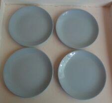 """Vintage Johnson Australia 7"""" (17.7cm) Side Plates x 4 *Blue Cloud"""