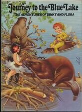 *JOURNEY TO THE BLUE LAKE: The Adventures of Dinky and Flora* Jos Laci 1973-Rare