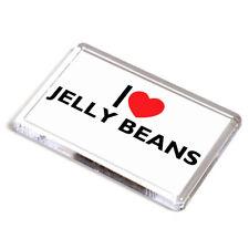 FRIDGE MAGNET - I Love Jelly Beans - Novelty Food & Drink Gift