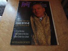 HOT PRESS 27/2/86. GAY BYRNE,U2,BOB DYLAN,NEW ORDER,60 YEARS OF RTE.