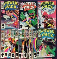 Power Pack #1 to #21 unbroken run. Marvel 1984. 21 x issues.
