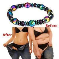 Gewichtsverlust magnetische Armband Perlen Hämatit Stein A6R7 für Therapie N7D5