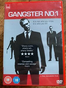 Gangster No.1 DVD UK 2000 British Crime Movie w/ Paul Bettany + Malcolm McDowell