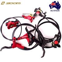 MTB Bike Hydraulic Disc Brake Front Rear Lever Calipers Rotors Disc Brake Set AU