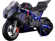 MOTOTEC CALI GAS POCKET BIKE 40cc  4 STROKE - EPA APPROVED - BLUE