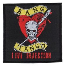 BANG TANGO-Live injection-écusson/patch-NEUF - #138