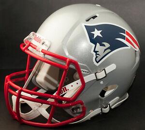 ROB GRONKOWSKI Edition NEW ENGLAND PATRIOTS Riddell REPLICA Football Helmet NFL