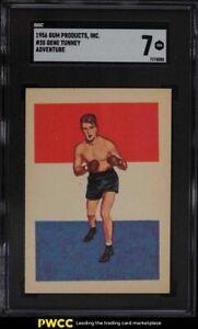 1956 Adventure Boxing Gene Tunney #35 SGC 7 NRMT