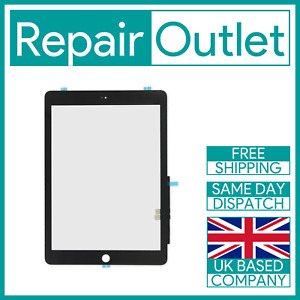 OEM 2018 iPad 6th A1893 A1954 Black Touch Screen Digitizer Replacement UK Stock