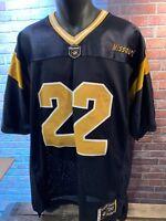 Missouri TIGERS Mizzou #22 Football Jersey Majestic Size L