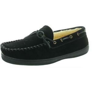Slippers International Mens Arizona Moccasin Slippers 11 Extra Wide (4E) 6691