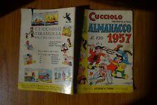 FUMETTO CUCCIOLO ALMANACCO 1957 STORIE E FIABE N. 1 EDIZIONI ALPE MILANO