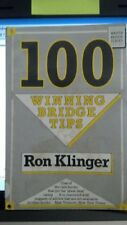 100 Winning Bridge Tips (Master Bridge),Ron Klinger