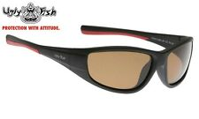 UGLY FISH Polarised Sunglasses PU5212 MBL.BR BROWN Lens New
