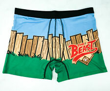 """THE SANDLOT underwear Boxer Shorts Extra Large XL 38/40"""" NEW Loot Wear crate"""