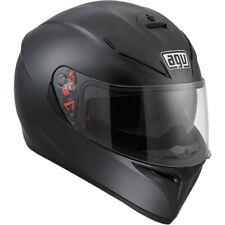 AGV K-3 SV Full Face Motorcycle Helmet Matte Black Size Medium-Small *BLEMISHED*