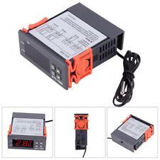10A 220V Digitaler Temperaturregler Grad Sensor Digital-Thermostat Instrument DE