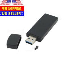 Black 42mm NGFF M2 SSD to USB 3.0 External PCBA ConverterAdapter Card Flash Type