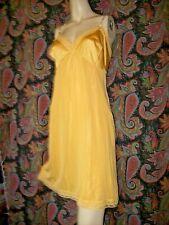 Vintage Vanity Fair Sunshine Silky Nylon Empire Slip Nighty Lingerie 42
