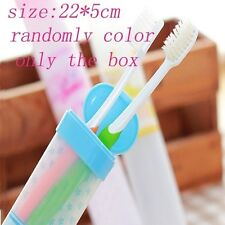1PC Travel Portable Toothbrush Box Mouthwash Receive Case Randomly Color