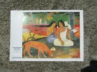 Vintage print - Arearea by Paul Gauguin - 1892 - ready to frame print fine art