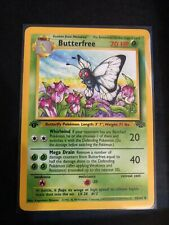 1999 Wizards 1st edition Butterfree 33/64 pokemon