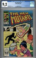 New Mutants #9 CGC 9.2 NM- 1st Appearance of Selene WHITE PAGES
