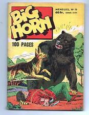 BIG HORN n°19 - Editions SER Lyon. 1959 - TBE