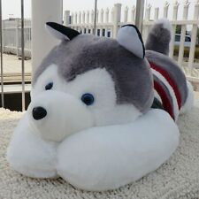 Siberian Husky Dog Plush Toy Stuffed Animal Soft Doll Pillow Figure Gifts 20""