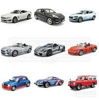 Bburago 1:24 Scale Diecast Model Cars Porsche Maserati Alfa Renault Land Rover
