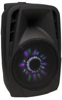"Mobile Beschallungsanlage HOLLYWOOD ""MB-8 LED"" 300W, SD/USB, Bluetooth"
