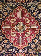 Tremendous Tabriz - 1940s Antique Persian Rug - Tribal Carpet - 10 x 13.10 ft.