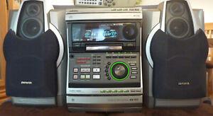AIWA STEREO ANLAGE: XR-H770MD,  ORIG.FERNBEDIENUNG,  BEDIENUNGSANLEITUNG  !!!
