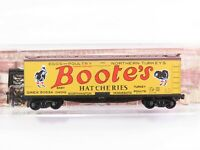 N Scale Micro-Trains MTL 04900620 QREX Bootes Hatcheries 40' Reefer #90534