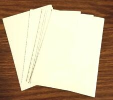 Lot of 7 Blank A2 Size Cards