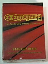 XXXenophile TCG Starter Adult Trading Card Game sealed new 1996
