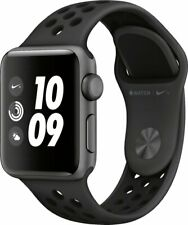 New Apple Watch Nike+ S3 GPS 38mm Space Gray Al with Anthr/Black Nike Sport Band