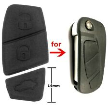 Replacement 3 Button Rubber Pad for Ford KA MK2 Remote Key Fob 2008-2016