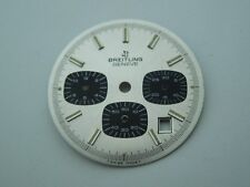 "Original NOS Vintage Breitling ""Silver & Blue Chrono-Matic"" Dial, from an estate"