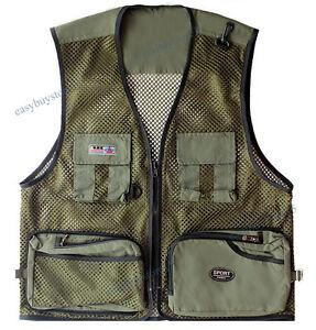 Men Hunting Trapper Creek Mesh Shooting Vest Lightweight Camo Size L-3XL Outdoor