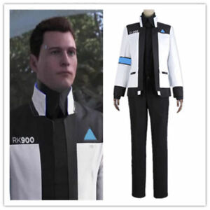 New Detroit Become Human Connor RK900 Jacket Uniform Cosplay Costume