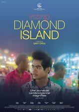 Affiche 120x160cm DIAMOND ISLAND (2016) Sobon Nuon, Cheanick Nov, Chhem NEUVE