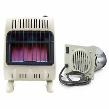 Mr. Heater, 20,000 BTU Vent Free Blue Flame Natural Gas Heater w/Blower
